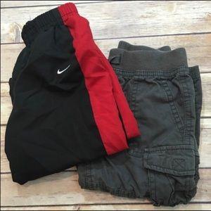 Set of 2 Sz 18M Nike Athletic Cherokee Cargo Pants